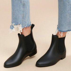Report Slicker Ankle Boot Black Matte